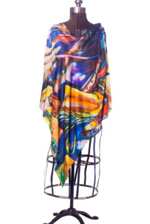 stylish-martini-silk-poncho